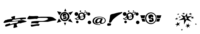 Chain Crank Font OTHER CHARS