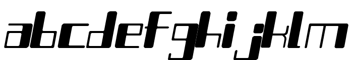 Chain Reaction Itaric Font LOWERCASE