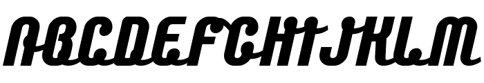 Chainexbold Font UPPERCASE