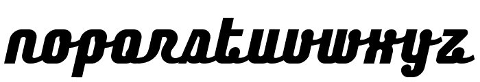Chainexbold Font LOWERCASE