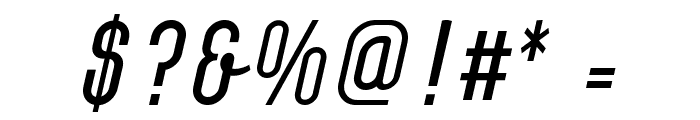 Chainlight Font OTHER CHARS