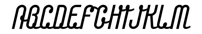 Chainlight Font UPPERCASE