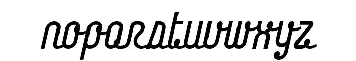 Chainlight Font LOWERCASE