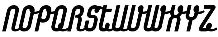 Chainregular Font UPPERCASE