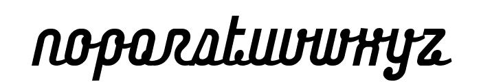 Chainregular Font LOWERCASE