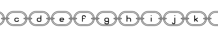Chainz G98 Font LOWERCASE