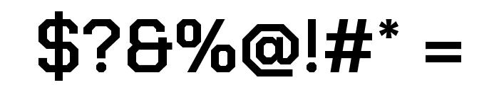 Chakra Petch SemiBold Font OTHER CHARS