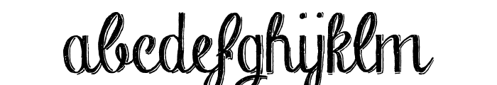 Chalk-hand-lettering-shaded_demo Font LOWERCASE