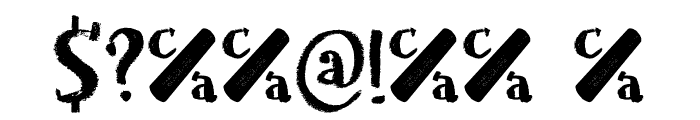Chalkaholic DEMO Regular Font OTHER CHARS