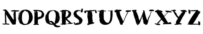 Chalkaholic DEMO Regular Font UPPERCASE