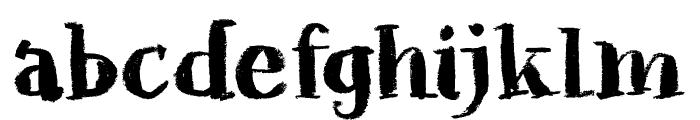 Chalkaholic DEMO Regular Font LOWERCASE