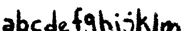 Chalky Chicken Font LOWERCASE