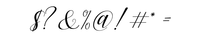 Challista Font OTHER CHARS