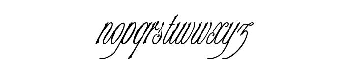 Champagne Cyrillic Font LOWERCASE
