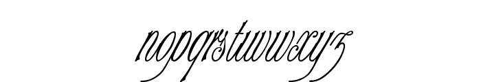 Champagne Font LOWERCASE