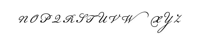 Champignon Alt Swash Font UPPERCASE