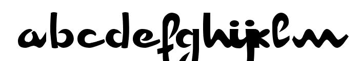 Champion AF [unregistered] Font LOWERCASE