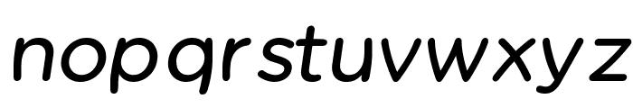 Chams  Bold Italic Font LOWERCASE