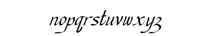 Chancellerie Moderne Tryout Font LOWERCASE