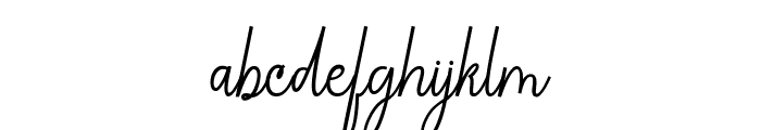 ChandelleSignaturesScript Font LOWERCASE