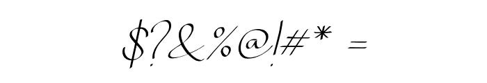 Chandrawinata-Italic Font OTHER CHARS