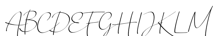 Chandrawinata-Italic Font UPPERCASE