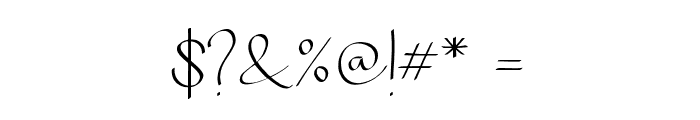 Chandrawinata-Regular Font OTHER CHARS