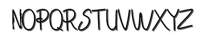 Chandry Vintage Regular Font UPPERCASE