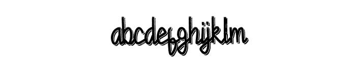 Chandry Vintage Regular Font LOWERCASE