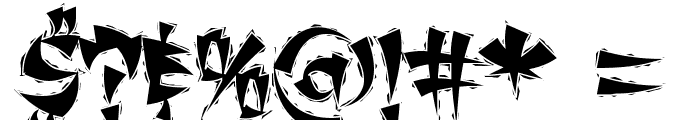ChangChangWoodcut Font OTHER CHARS