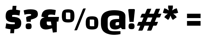 Changa-ExtraBold Font OTHER CHARS