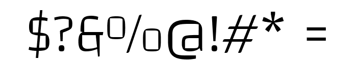 Changa-ExtraLight Font OTHER CHARS