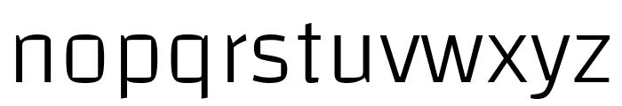 Changa-ExtraLight Font LOWERCASE