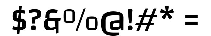 Changa-Medium Font OTHER CHARS