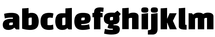 Changa One Font LOWERCASE