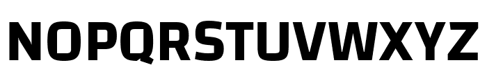Changa-SemiBold Font UPPERCASE