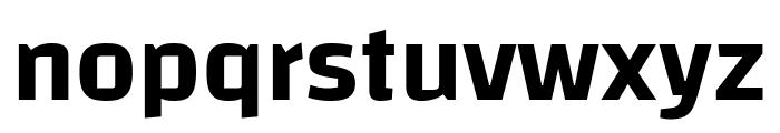 Changa-SemiBold Font LOWERCASE