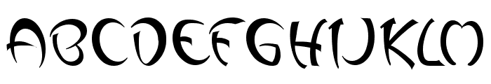 Changstein Font UPPERCASE