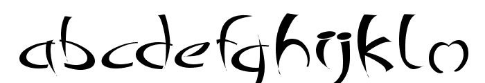 Changstein Font LOWERCASE