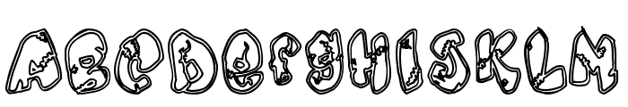 Chankenstein Font UPPERCASE