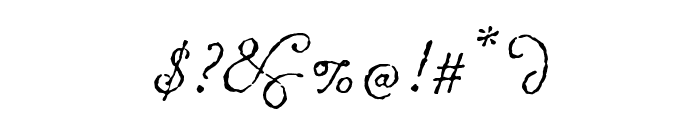 ChansonDAmour Font OTHER CHARS