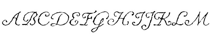 ChansonDAmour Font UPPERCASE