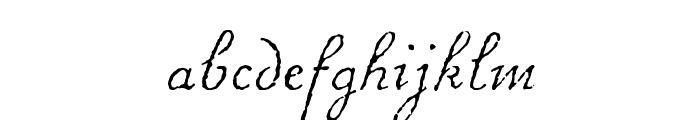 ChansonDAmour Font LOWERCASE