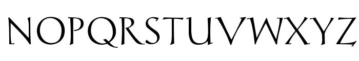 Chantelli Antiqua Font UPPERCASE