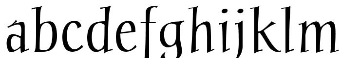 Chantelli Antiqua Font LOWERCASE