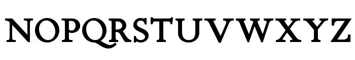 Chanticleer Roman NF Bold Font UPPERCASE
