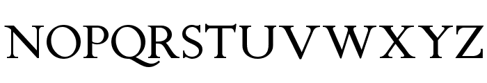 Chanticleer Roman NF Font UPPERCASE