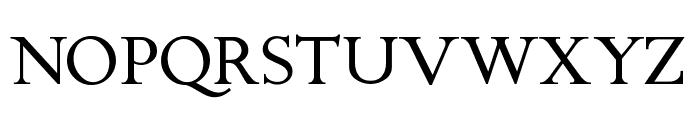 ChanticleerRoman Font UPPERCASE