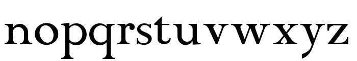 ChanticleerRoman Font LOWERCASE