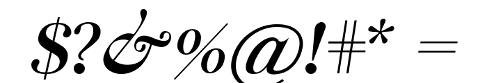 Chapaza Italic Font OTHER CHARS